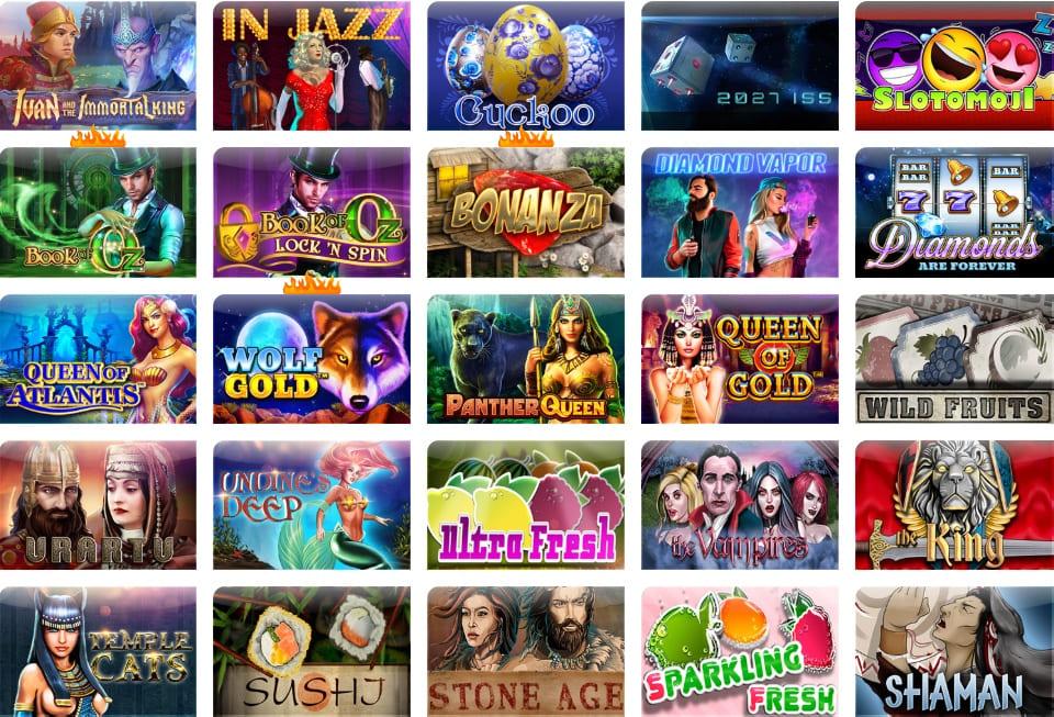 Egocasino beliebtesten Spiele