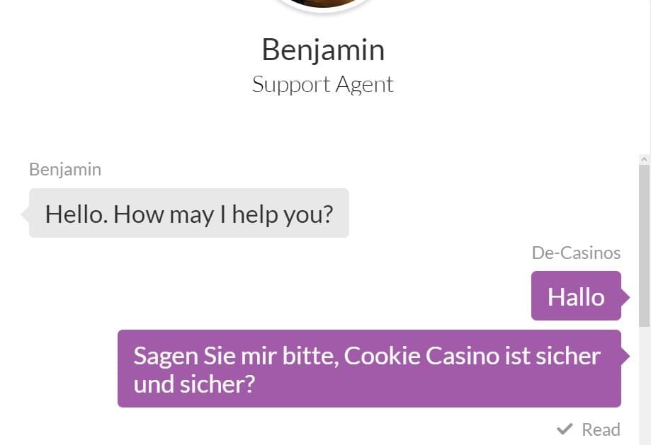 Cookie casino Kundendienst