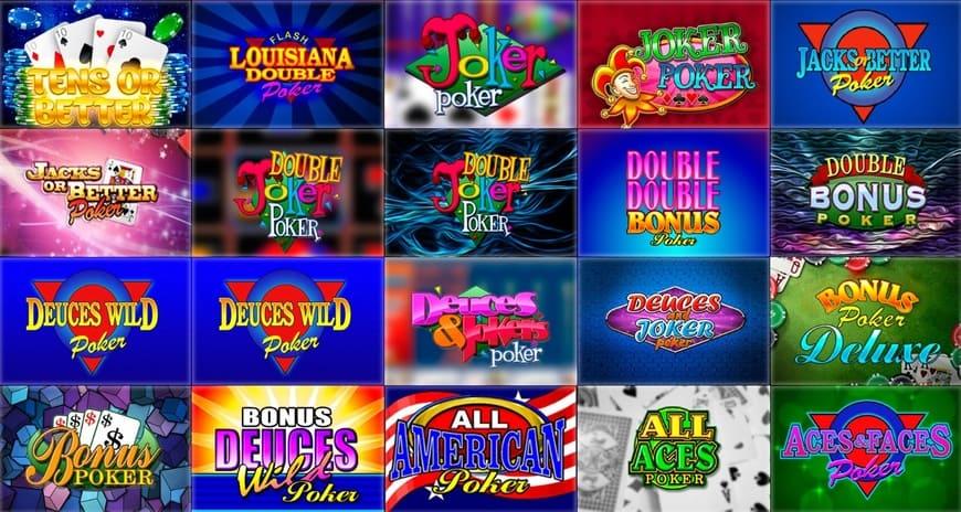 SlotV casino Videopoker