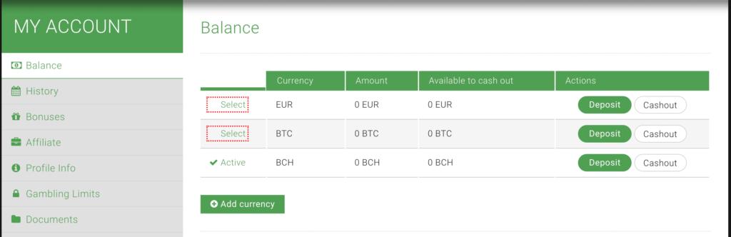 BTC zu EUR Exchange