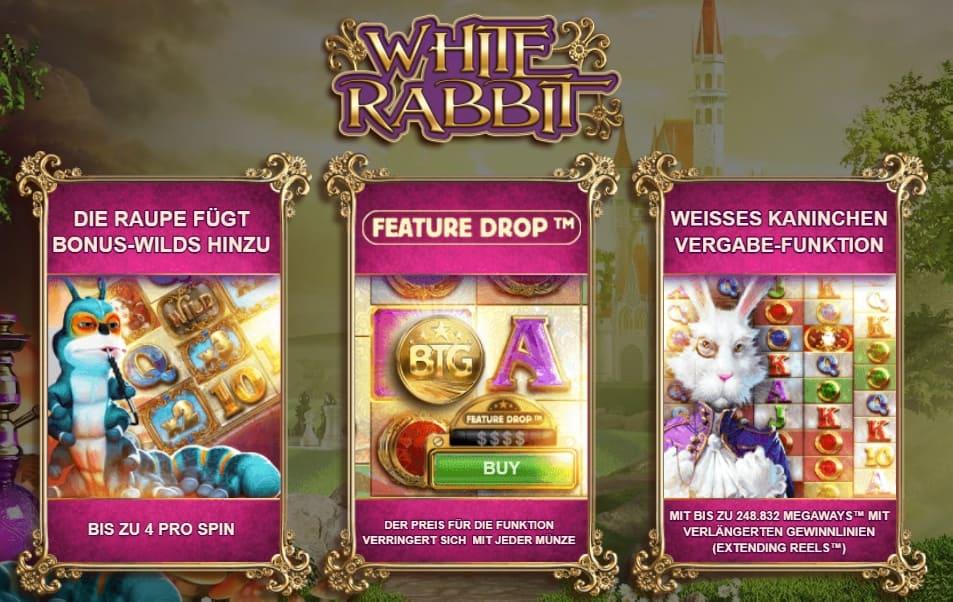 White Rabbit slot Bewertung