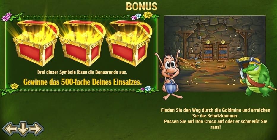 Hugo Bonus Spiele